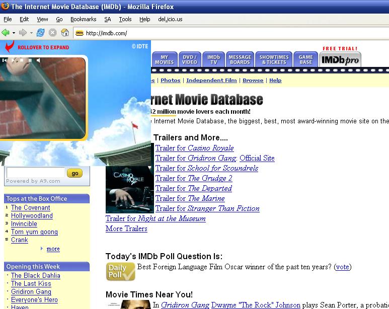 Internet movie database